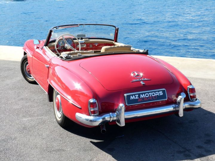 Mercedes 190 SL Rouge Occasion - 13