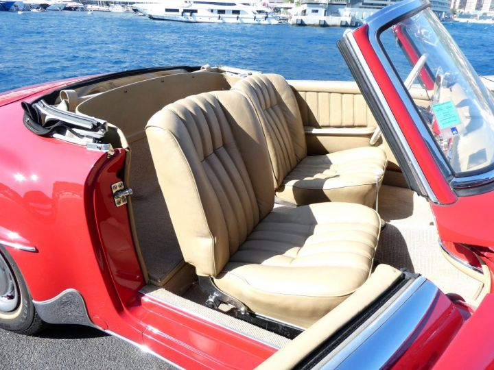 Mercedes 190 SL Rouge Occasion - 15