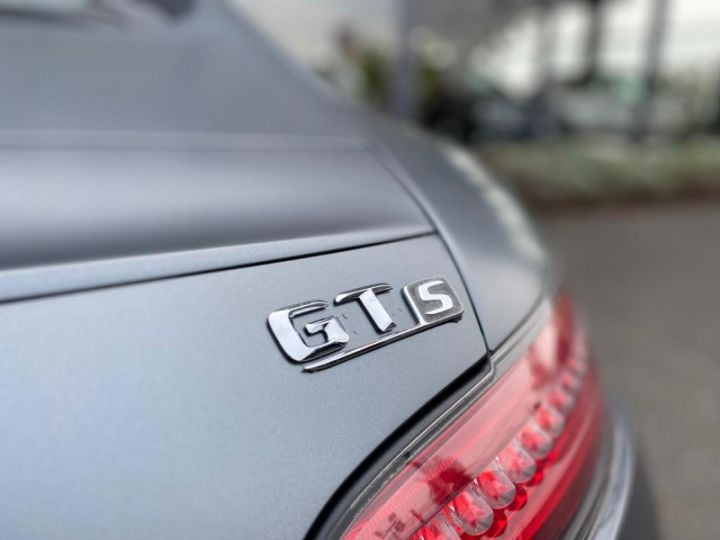 Mercedes AMG GT 4.0 V8 510CH S Gris F - 18