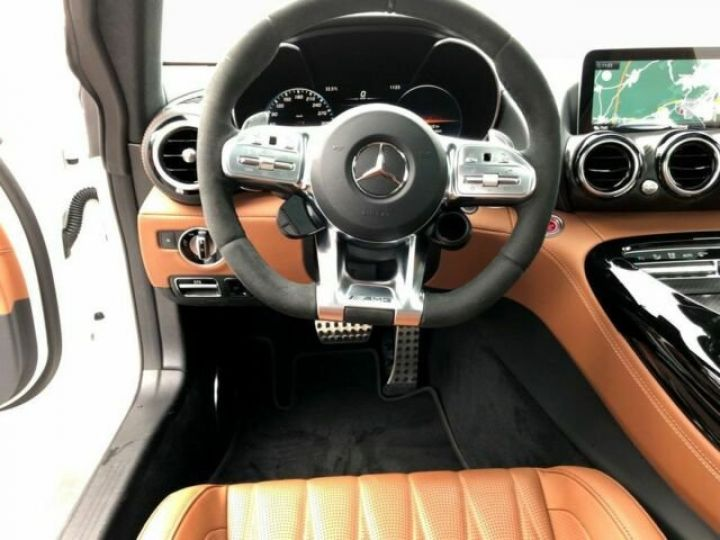 Mercedes AMG GT V8 bi-turbo 4.0  Designo Diamant Weiss - 14