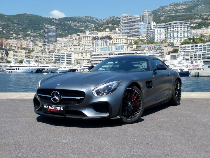 Mercedes AMG GTS 510 CV SPEEDSHIFT 7 - EDITION 1 Gris Selenite Occasion - 1