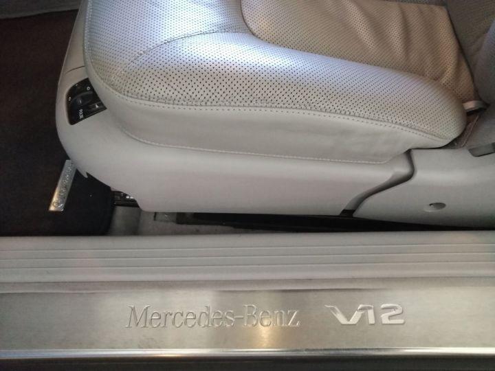 Mercedes CL 600 V12 367 CV BVA Gris - 12