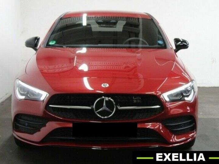 Mercedes CLA 250e AMG  ROUGE PEINTURE METALISE  Occasion - 1