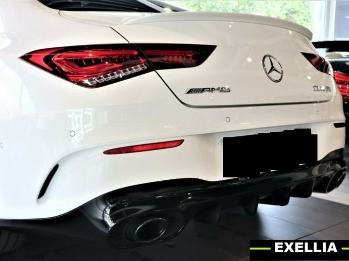 Mercedes CLA 35 AMG 4Matic BLANC PEINTURE METALISE  Occasion - 4