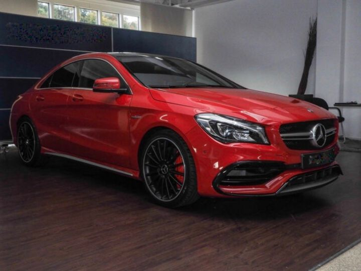 Mercedes CLA 45 AMG 381ch 4M Speedshift DCT ROUGE - 3