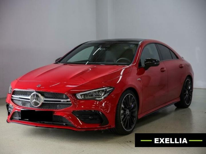 Mercedes CLA A35 AMG 4 MATIC rouge Occasion - 8