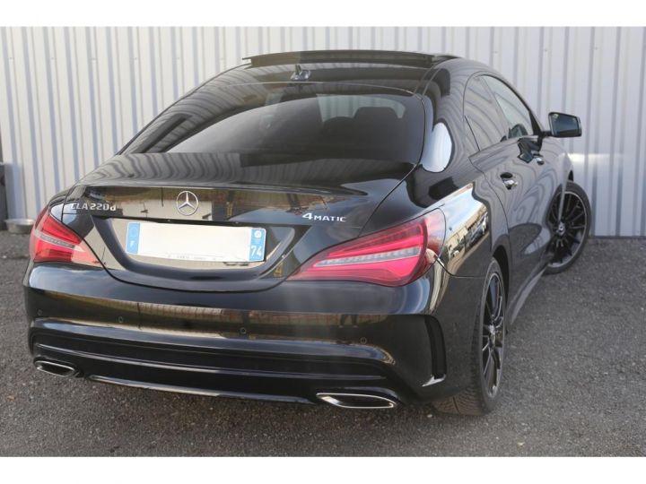 Mercedes CLA CLASSE 220 d  4 Matic Fascination  Noir - 4