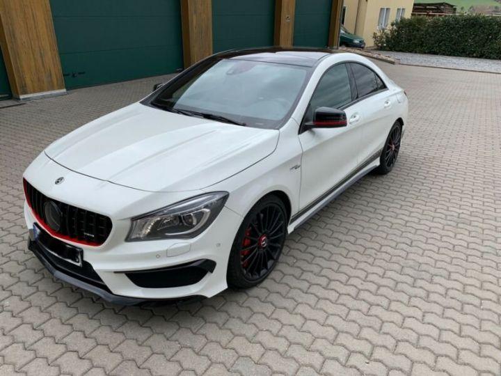 Mercedes CLA Mercedes Classe CLA 45 AMG 4Matic Speedshift DCT A Blanc - 4