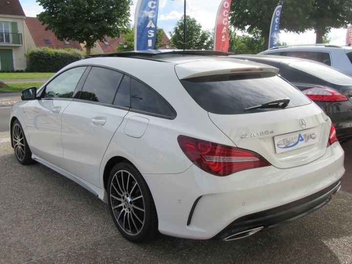 Mercedes CLA Shooting Brake 180 D WHITEART EDITION 7G-DCT Blanc Occasion - 3