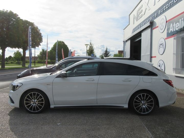 Mercedes CLA Shooting Brake 180 D WHITEART EDITION 7G-DCT Blanc Occasion - 5