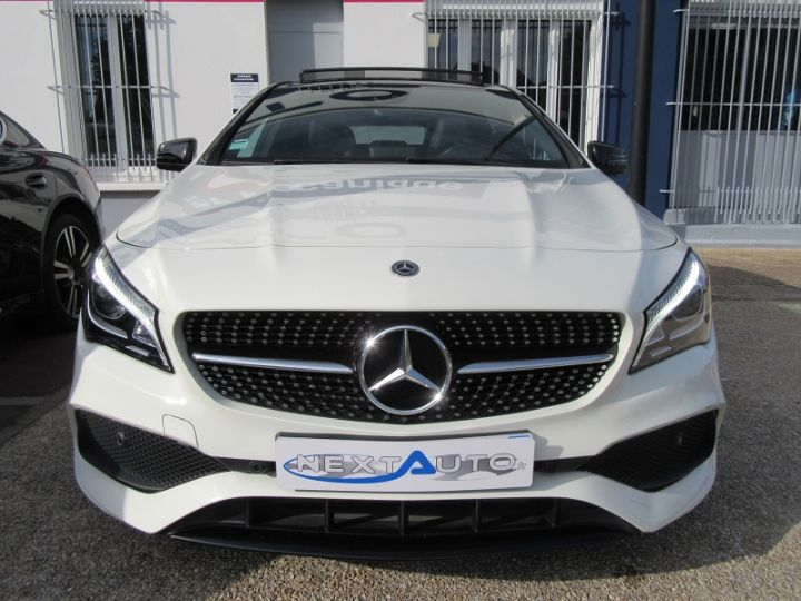 Mercedes CLA Shooting Brake 180 D WHITEART EDITION 7G-DCT Blanc Occasion - 6