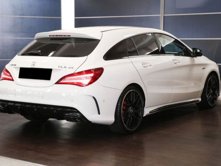 Mercedes CLA Shooting Brake 45 AMG 381CH 4MATIC SPEEDSHIFT DCT BLANC Occasion - 3