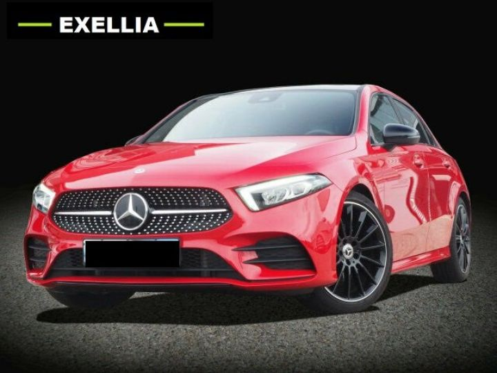 Mercedes Classe A 200 BVM PACK AMG NIGHT  ROUGE Occasion - 2