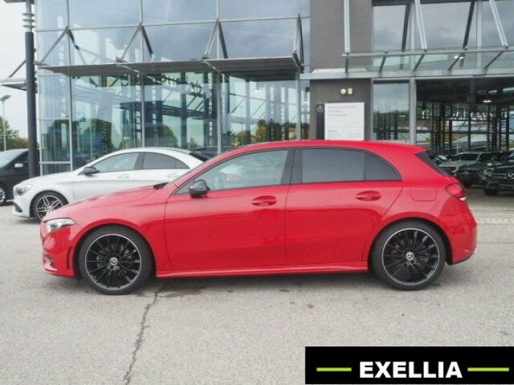 Mercedes Classe A 200 BVM PACK AMG NIGHT  ROUGE Occasion - 3