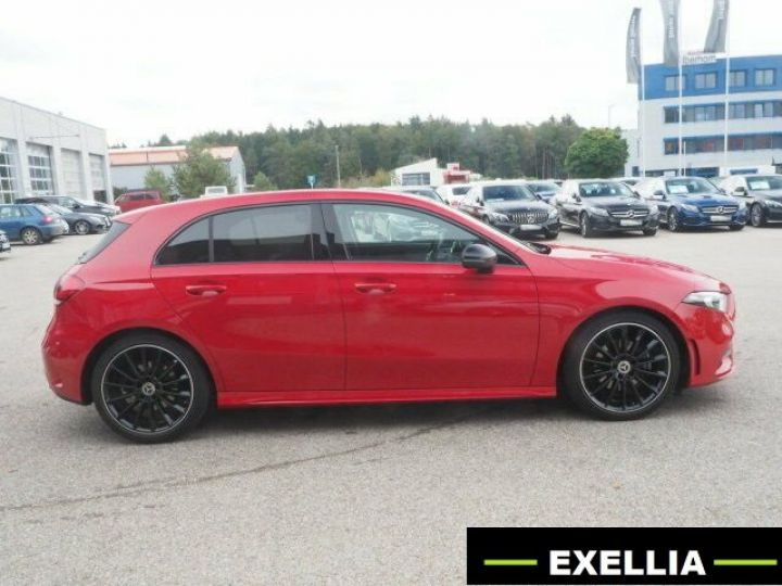 Mercedes Classe A 200 BVM PACK AMG NIGHT  ROUGE Occasion - 4