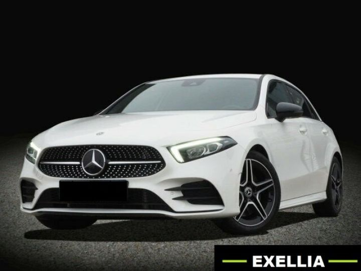 Mercedes Classe A 250 BVA PACK AMG NIGHT  BLANC  Occasion - 1