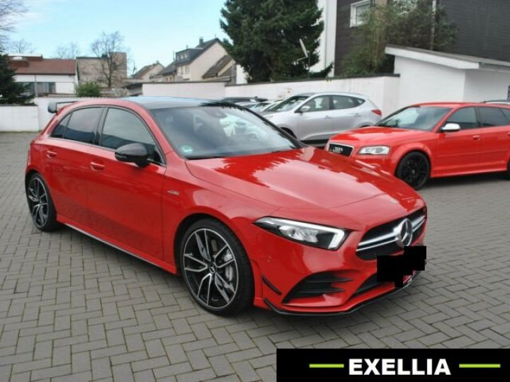 Mercedes Classe A 35 AMG 4MATIC  ROUGE PEINTURE METALISE  Occasion - 1