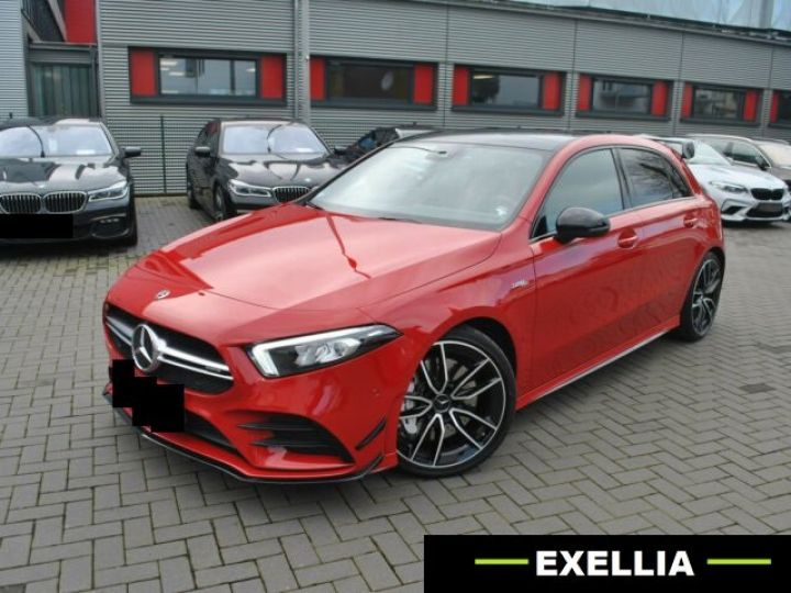 Mercedes Classe A 35 AMG 4MATIC  ROUGE PEINTURE METALISE  Occasion - 3