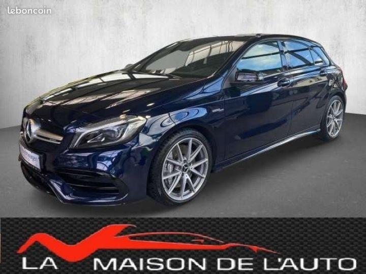 Mercedes Classe A 45 AMG bleu - 1