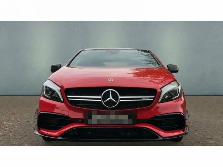 Mercedes Classe A 45 AMG 4M Night Pack Aerodynamique Rouge et Noir - 6