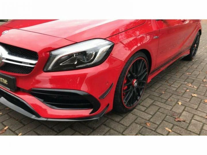 Mercedes Classe A 45 AMG 4M Night Pack Aerodynamique Rouge et Noir - 7