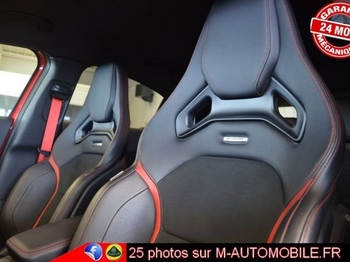 Mercedes Classe A 45 AMG 4MATIC DCT ROUGE Occasion - 3
