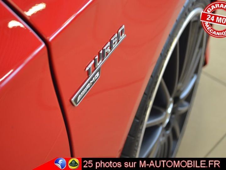 Mercedes Classe A 45 AMG 4MATIC DCT ROUGE Occasion - 6