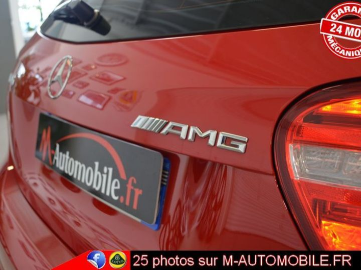 Mercedes Classe A 45 AMG 4MATIC DCT ROUGE Occasion - 7