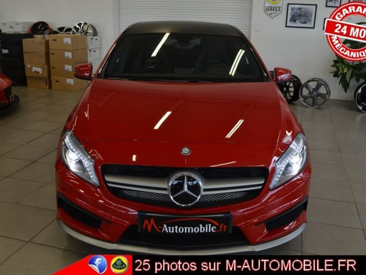 Mercedes Classe A 45 AMG 4MATIC DCT ROUGE Occasion - 8