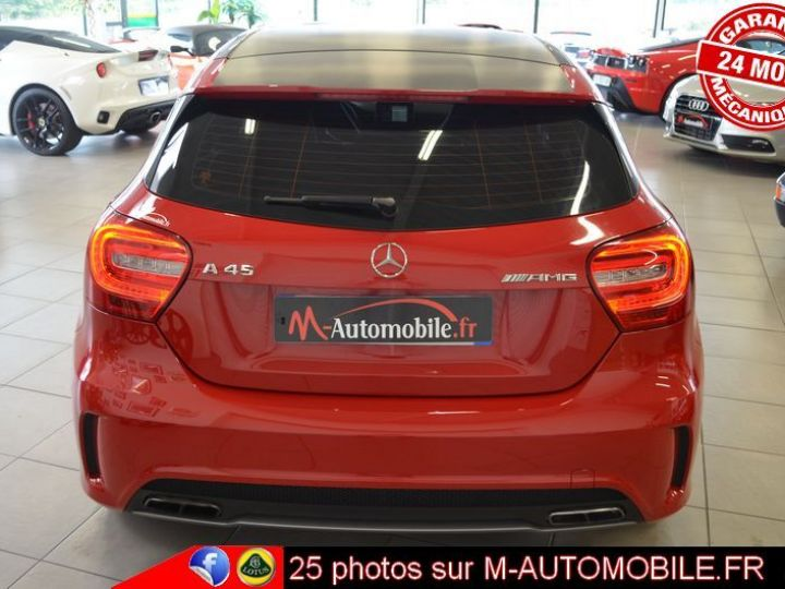 Mercedes Classe A 45 AMG 4MATIC DCT ROUGE Occasion - 9