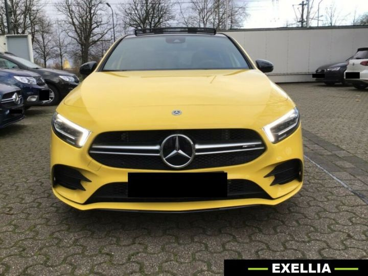 Mercedes Classe A A 35 AMG 4 Matic  JAUNE PEINTURE METALISE  Occasion - 1
