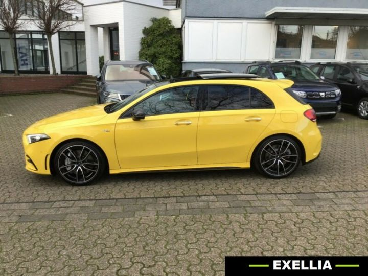 Mercedes Classe A A 35 AMG 4 Matic  JAUNE PEINTURE METALISE  Occasion - 2