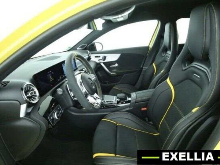 Mercedes Classe A A 45 S AMG 4MATIC JAUNE PEINTURE METALISE  Occasion - 3
