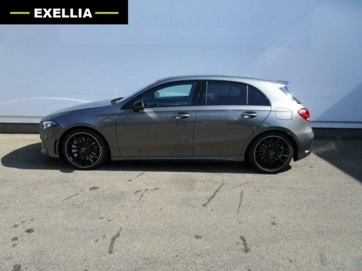 Mercedes Classe A A35 AMG 4 MATIC GRIS Occasion - 4