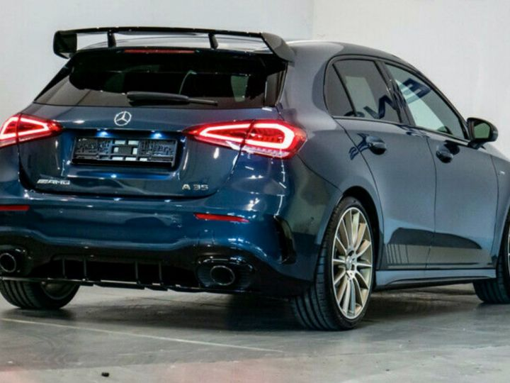 Mercedes Classe A EDITION 1 A35 AMG 4M PANO LED Bleu - 2