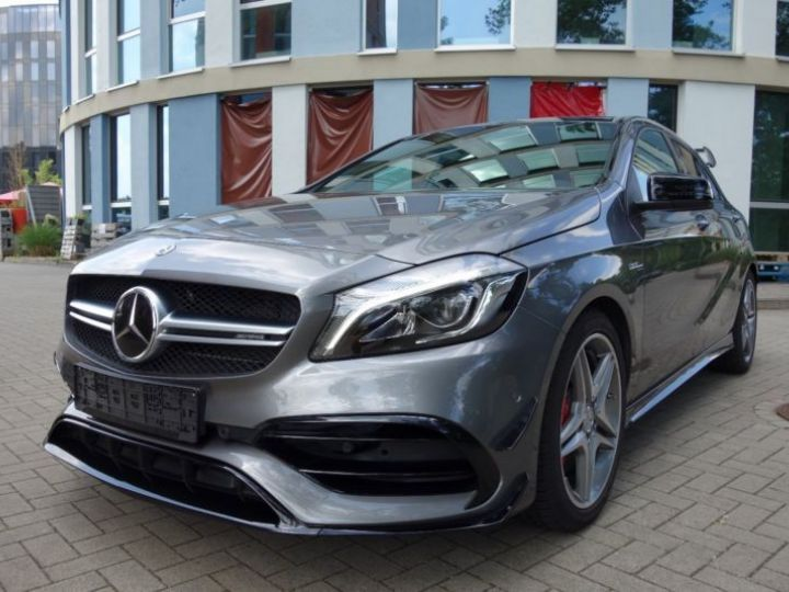 Mercedes Classe A W176 45 AMG 4MATIC SPEEDSHIFT-DCT GRIS Occasion - 1
