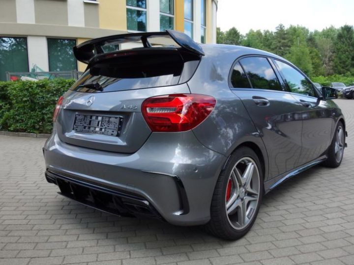 Mercedes Classe A W176 45 AMG 4MATIC SPEEDSHIFT-DCT GRIS Occasion - 4