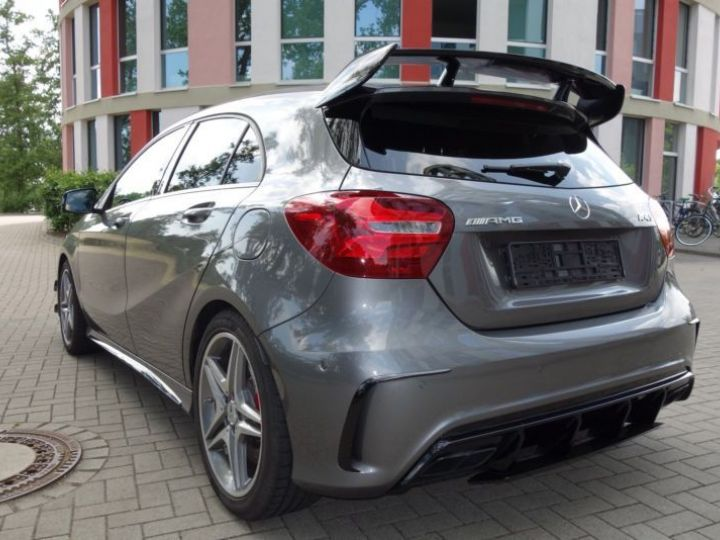 Mercedes Classe A W176 45 AMG 4MATIC SPEEDSHIFT-DCT GRIS Occasion - 7