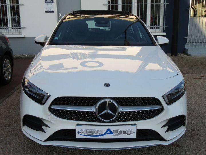 Mercedes Classe A (W177) 180 D 116CH AMG LINE 7G-DCT Blanc Occasion - 7