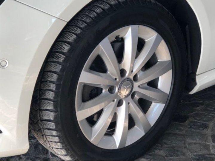 Mercedes Classe B 220 CDI 170 cv 7G-TRON(12/2013) blanc - 3