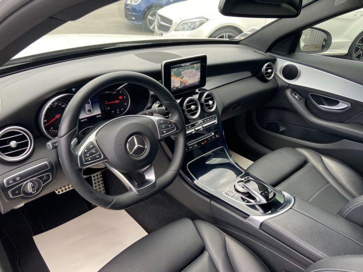 Mercedes Classe C 200 d SPORTLINE 136ch 9G-TRONIC BLANC - 8