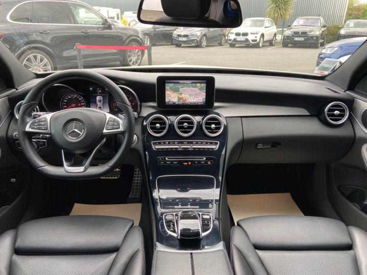 Mercedes Classe C 200 d SPORTLINE 136ch 9G-TRONIC BLANC - 9