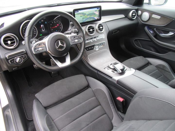 Mercedes Classe C 200 HYBRIDE 184CH 9G-TRONIC BLANC Occasion - 2