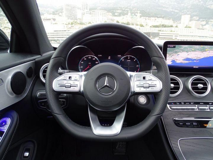Mercedes Classe C 220 D COUPE AMG LINE - 194 CV - MONACO Blanc - 13