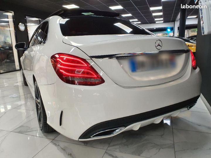 Mercedes Classe C 220D Fascination Amg Blanc - 2