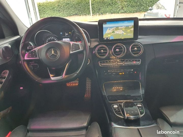 Mercedes Classe C 220D Fascination Amg Blanc - 4