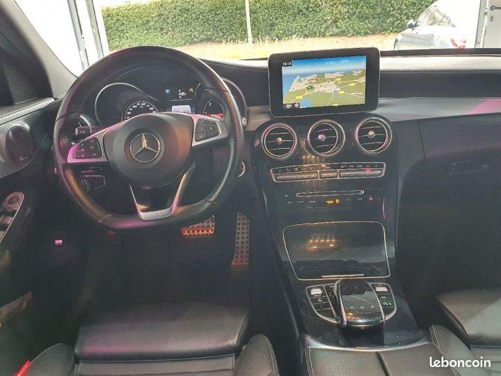 Mercedes Classe C 220d Sportline Blanc - 3