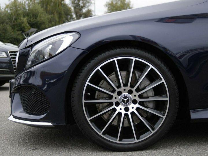 Mercedes Classe C 250 dA AMG 9G-TRONIC (05/2017) bleu métal foncé - 11