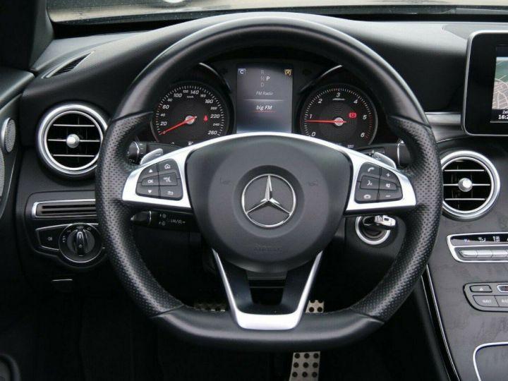 Mercedes Classe C 250 dA AMG 9G-TRONIC (05/2017) bleu métal foncé - 17