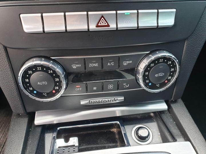 Mercedes Classe C 3 180 cdi avantgarde 7g tronic Noir Occasion - 14